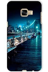IndiaRangDe Hard Back Cover FOR Samsung Galaxy C5