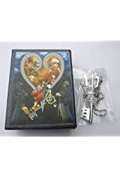 Kingdom Hearts: Silver Keyblade Necklace with Gift Box