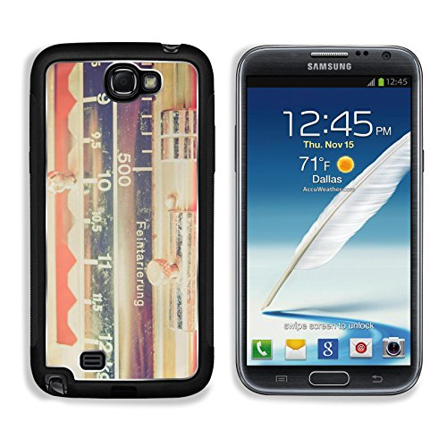 MSD Premium Samsung Galaxy Note 2 Aluminium Backplate Snap Case Vintage looking Kitchen weighing scale weight or mass measuring instrument Image ID 27196754