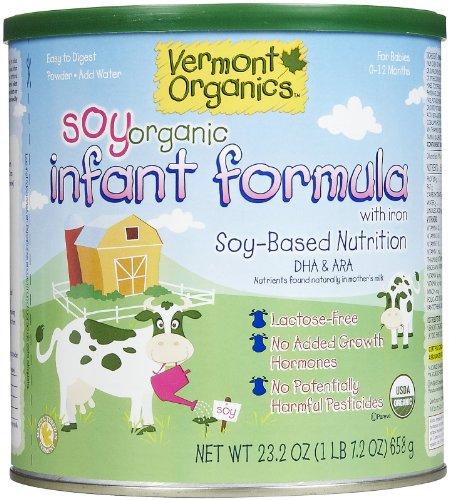 Vermont Organics Soy Baby Formula - Powder - 23.2 oz - 1