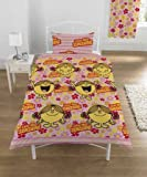 Mr Men Little Miss Sunshine Single Duvet Cover Set *P