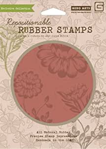 Hero arts rubber stamps indie bloom bold for Rubber stamps arts and crafts