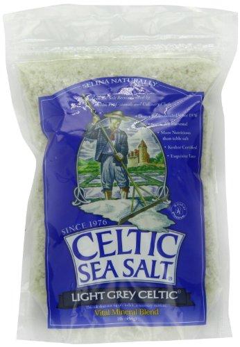 Light Grey Celtic coarse sea salt, 1 lb. bag - Pack of 2 (Celtic Sea Salt Course compare prices)