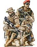 1/35 Miniature Figure Modern German ISAF Soldiers in Afghanistan 00421 - Plastic model kit