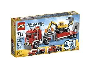 (历史最低)LEGO 31005乐高创造系列工程车运输车 Creator Construction Hauler$12.59