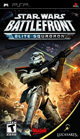 Star Wars Battlefront Elite Squadron - Sony PSP