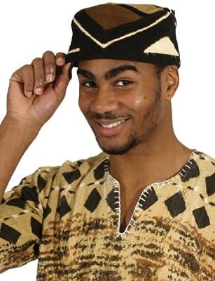 Mudcloth Kufi Kofi Hat
