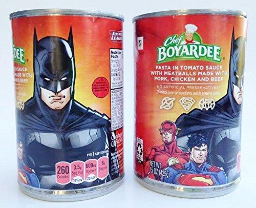 Chef Boyardee Justice League Superheros Shaped Pasta & Meatballs 15 oz. - Batman (Pack of 2) (Superhero Pasta compare prices)