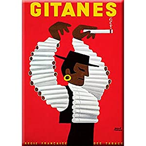 Cartexpo M15640 'Gitanes' Card Metal 15 x 20 cm [French Language]