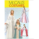 McCall's Patterns M5731 Misses'/Children's/Girls' Princess Costumes, Size MISS (SML-MED-LRG-XLG)