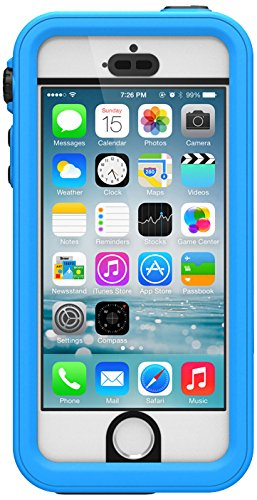 catalyst iPhone 5/5s用 完全防水・防塵ケース 防水規格『IP-68』取得 ブルー CT-WPIP13-BL