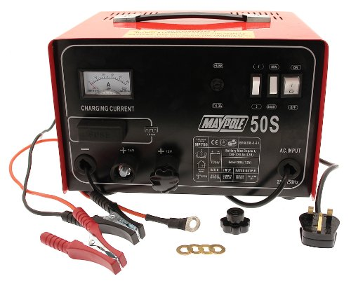 Maypole 750 30A Metal Battery Charger 12/24V