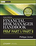 img - for Financial Risk Manager Handbook, + Test Bank: FRM Part I / Part II book / textbook / text book