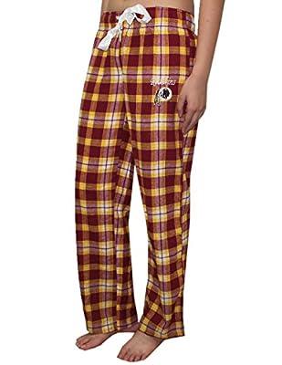 NFL Washington Redskins WOMENS Fall / Winter Plaid Pajama Pants