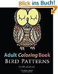 Adult Coloring Books: Bird Zentangle...