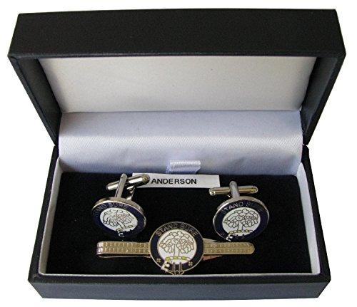 clan-escudo-gemelos-y-corbata-slide-box-set-seleccion-de-cresta-de-menu-desplegable-gordon-talla-uni