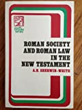 img - for Roman Law and Roman Society in the New Testament book / textbook / text book