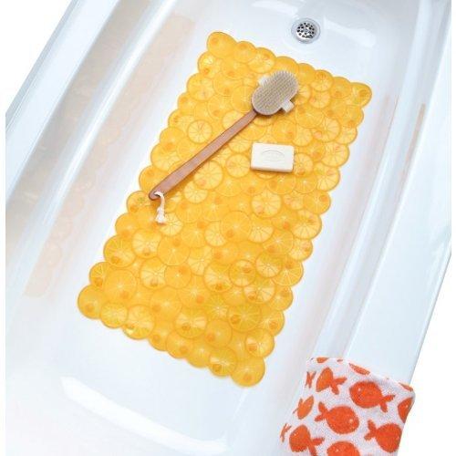Twist of Citrus Bath Mat - Orange