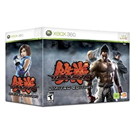 51llcugMsNL. AA280  Tekken 6 Limited Edition For Xbox 360   $65 Shipped