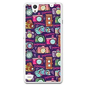 a AND b Designer Printed Mobile Back Cover / Back Case For Sony Xperia C4 (SONY_C4_2343)
