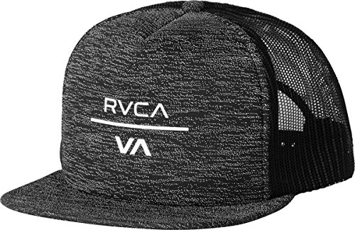 rvca-mens-va-trucker-hat-black-heather-one-size