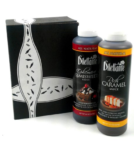 Dilettante All Natural Sauces 2-Flavor Variety: