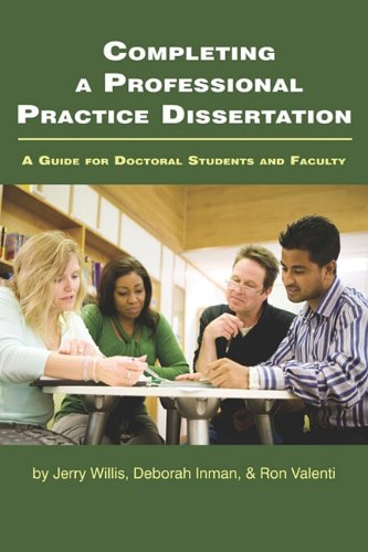 Completing a Professional Practice Dissertation: A Guide...