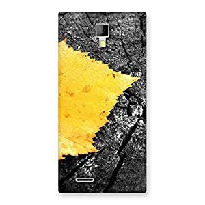Special Lonely Leaf Multicolor Back Case Cover for Micromax Canvas Xpress A99