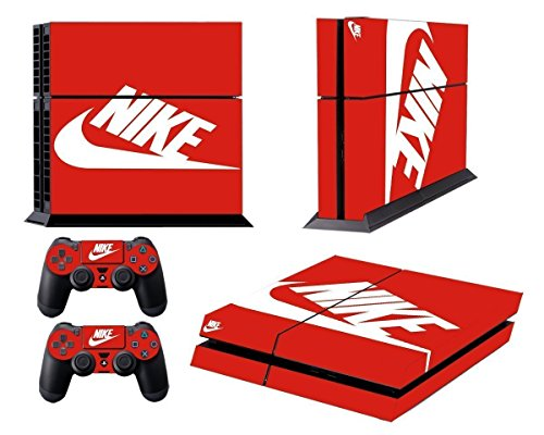 Hambur® Nike Logo Shoe Box Whole Body VINYL SKIN STICKER DECAL COVER for PS4 Playstation 4 System Console and Controllers (Nike Shoe Storage Box compare prices)