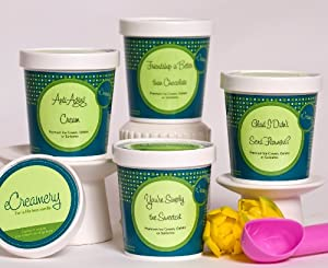eCreamery Girlfriends Sampler Pack - Ice Cream