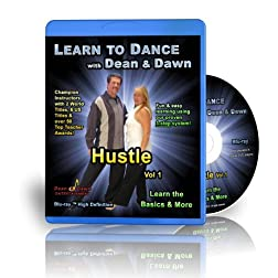 Hustle Vol 1 - Learn the Basics & More (Hustle Dance Lessons Blu-ray)