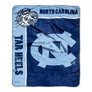 NCAA North Carolina Tar Heels 50-Inch-by-60-Inch Raschel Plush Throw School Spirit... by Northwest