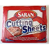 Saran Disposable Cutting 2pks of 24 Total 48 sheets