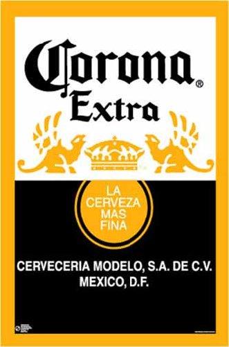 corona beer label