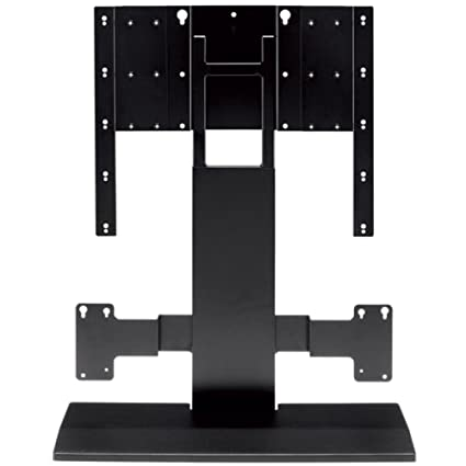 Yamaha YTST500BL Integrated TV/Soundbar Pedestal Stand for YSP4100 or YSP5100 Yamaha Sound Projector
