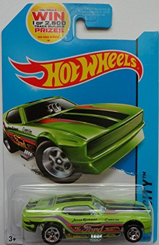 2014 Hot Wheels Hw City 99/250 - '71 Mustang Funny Car - Green
