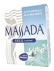 Massada - 0010499 - Sels Sachets - 3 x 200 g
