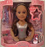 Dream Dazzlers Chic Styling Head Doll - 90 pieces!