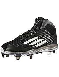 adidas Performance Men's PowerAlley 3 Mid Baseball Shoe