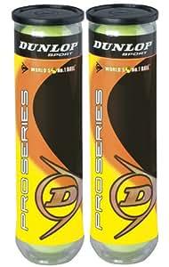 Dunlop - Palline da tennis Pro Series, confezione da 2