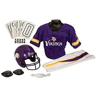 Minnesota Vikings Kids/Youth Football Helmet Uniform Set