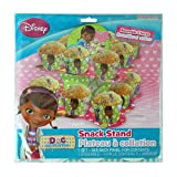 Disney Doc McStuffins 2 Tier Cupcake Stand - Tiered Snack, Treat Stand, Birthday Party, Centerpiece, Cake