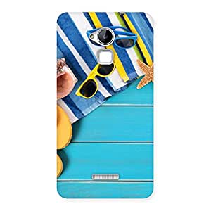 Gorgeous Cool Beach Print Back Case Cover for Coolpad Note 3