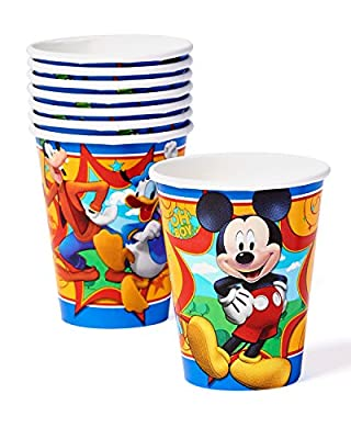 American Greetings Mickey Mouse Clubhouse . Paper Party Cups, 8 Count, Party Supplies Novelty