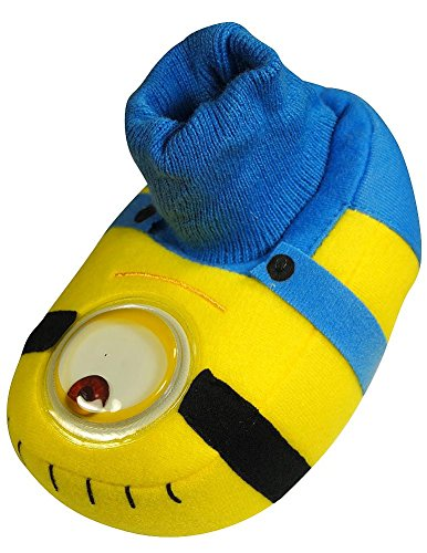 Despicable Me - Toddler Boys Despicable Me Slippers, Yellow, Blue 35976-S5-6 (Despicable Me Shoes)