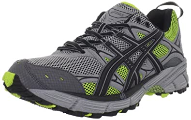 ASICS Men's GEL-Kahana 5 Running Shoe,Frost/Black/Limeade,6 M US