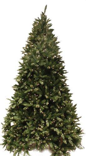Good Tidings Douglas Fir Artificial Prelit Christmas Tree 7 1 2 Feet