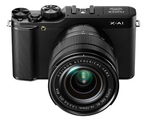 Fujifilm X-A1 Kit with 16-50mm Lens (Black)