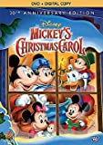 Mickeys Christmas Carol 30th Anniversary Special Edition DVD + Digital Copy