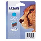 Epson T0712 cyan ink